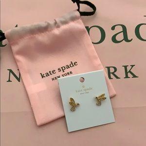 NWT Kate Spade Hummingbird Stud Earrings